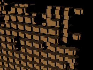 Cross Aggregation Wood 3
