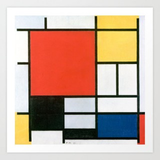 piet-mondrian-composition-in-red-yellow-blue-and-black-prints